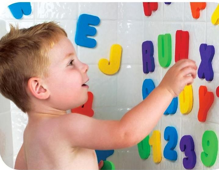 Munchkin Bath Letters and Numbers.