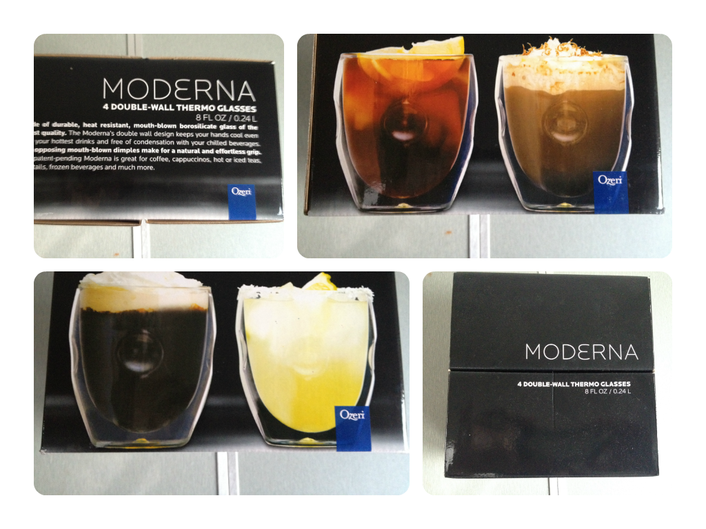 Fancy holding your coffee in a glass than a mug? Ozeri Moderna Thermo glasses review