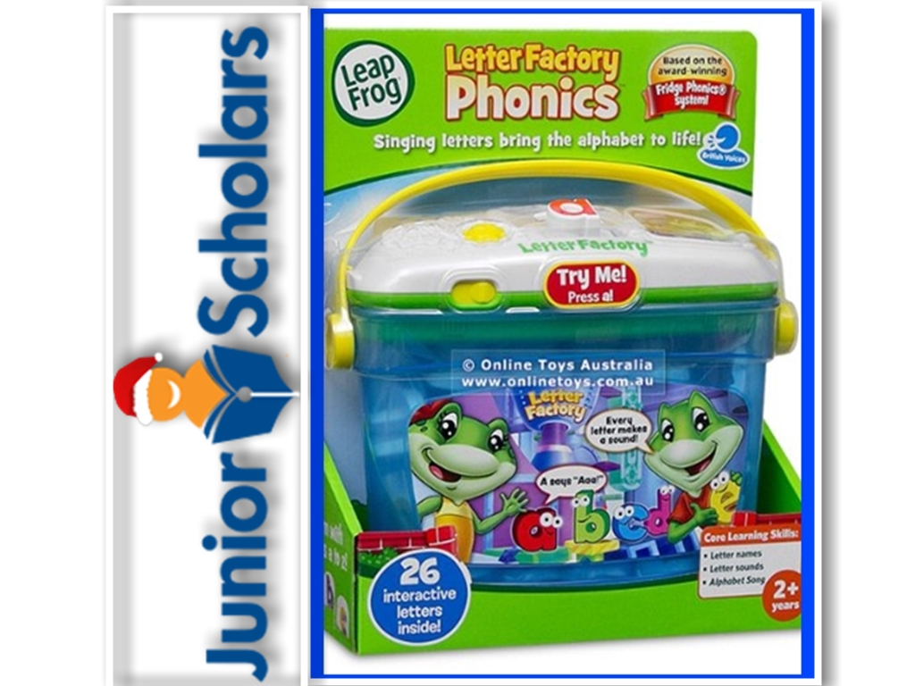 Junior Scholars – Learning Phonics with Leapfrog – Phonics factory