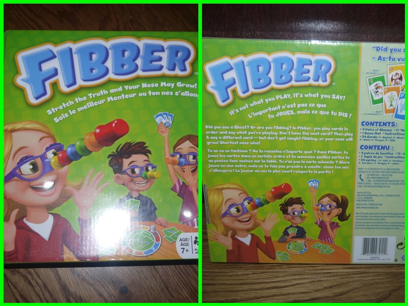 Something to remind you of Pinocchio -Spin Master Toys Fibber Board Game – Review