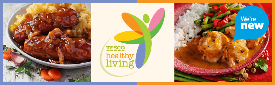 "Is ""Healthy Eating"" one of your New year Resolutions!?, Then Keep it up with ""Tesco Healthy Living range"""