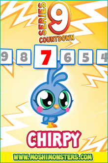 Moshi Monsters Series 9 Countdown-Day 11