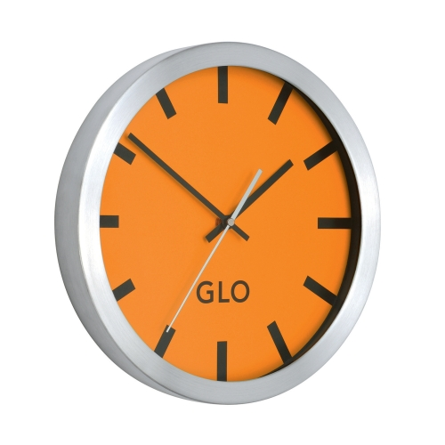 GLO Aluminium Wall Clock from Shoplet Review