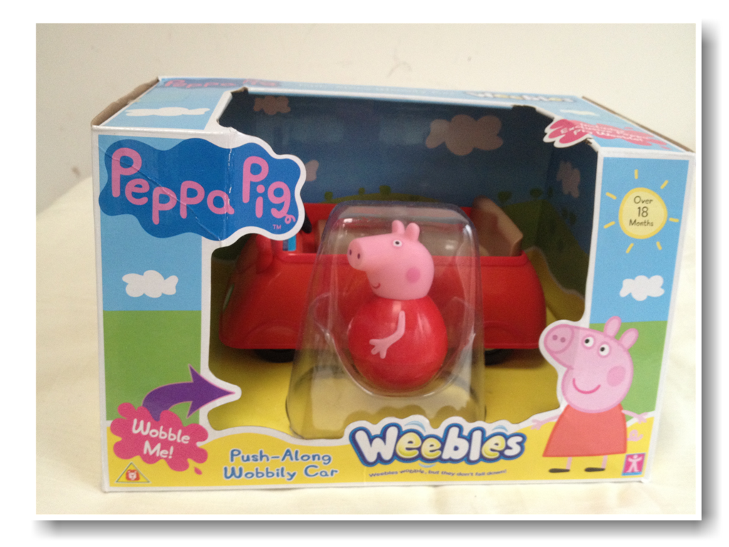 Review: Peppa Pig Weebles Push-Along Wobbily Car