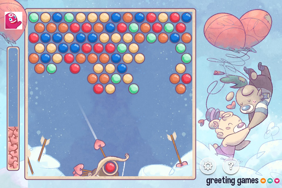 Romantic Trip Bubble Shooter