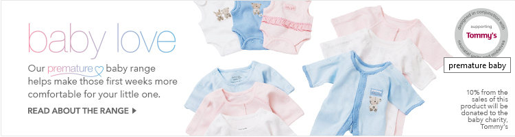 Tired of finding a perfect fit for your premature baby? George at Asda could help