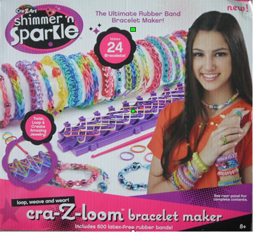 Cra-Z-Art-Shimmer-n-Sparkle Cra-z-loom-Bracelet-Maker from Character Online Review