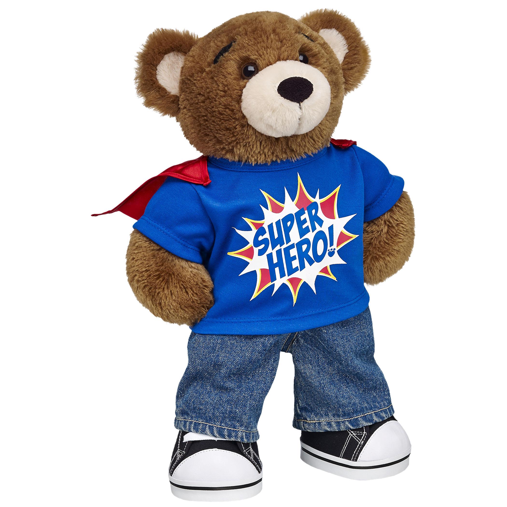 Build-A-Bear Workshop Superhero Bearemy - from -ú11 (2)