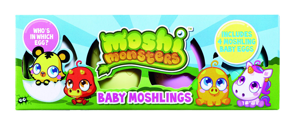 Moshi Monsters~Baby Moshlings~Pack~S