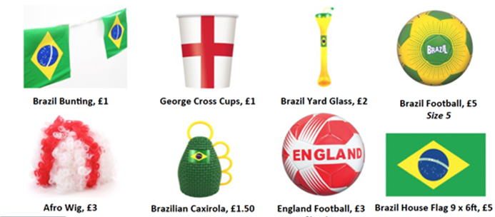 Celebrate the World Cup with Asda