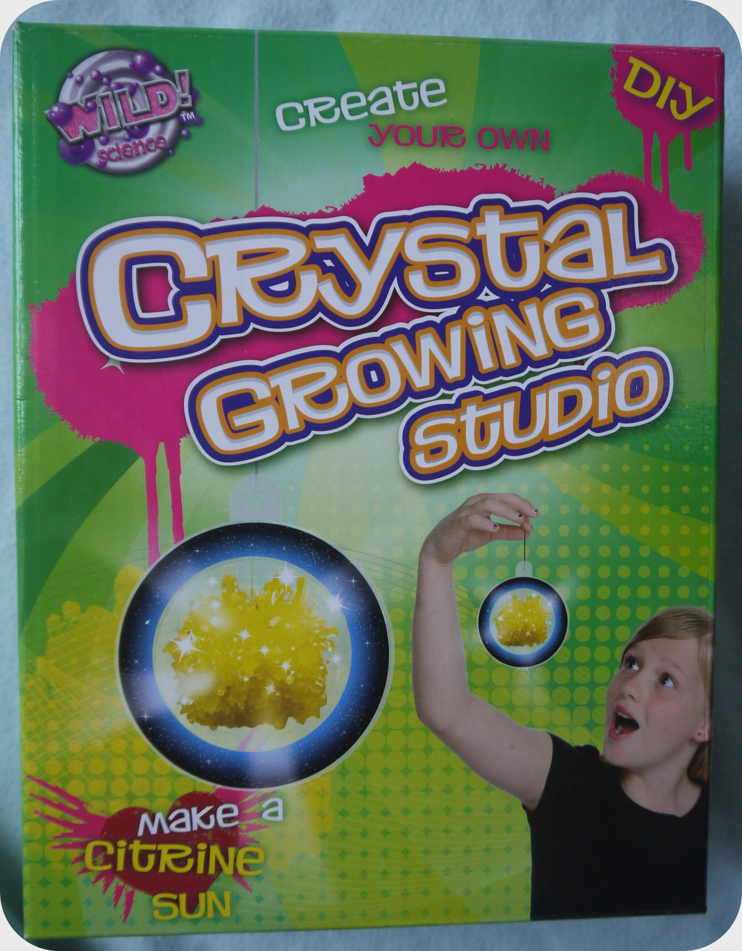 Grow your own Crystals in days… with Interplay Crystal growing studio