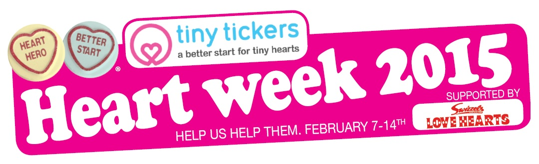 "Tiny Tickers Heart Week – Let's support that ""Little Hearts"" to stay stronger and live longer…."