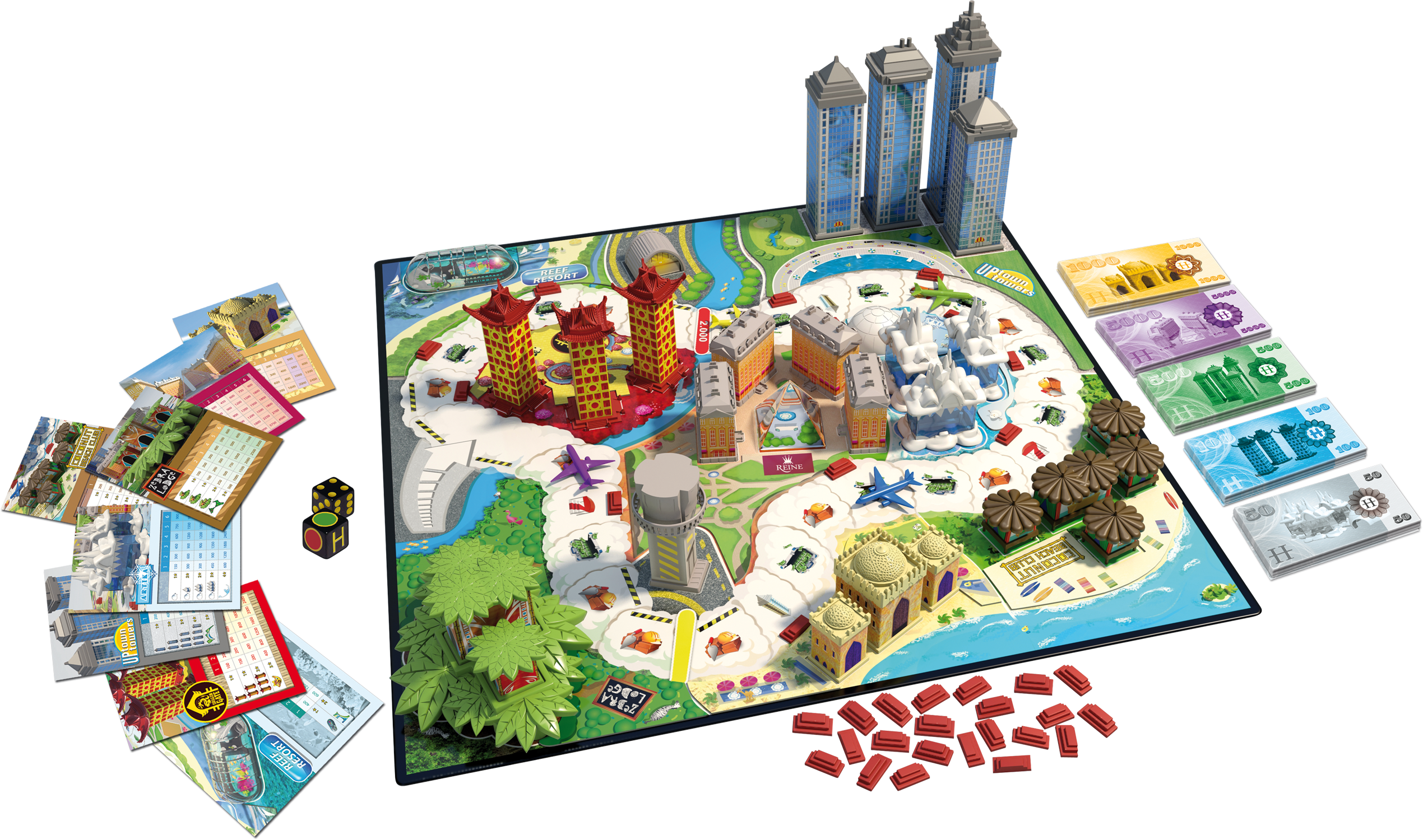 Review & Giveaway: Hotel Tycoon 3D board game from ...