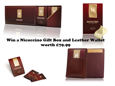 COMPETITION: #Win a Nicoccino Gift Box and Leather Wallet worth £79.99