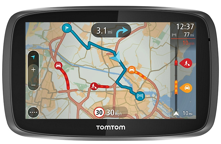 Tired of Traffic!? TomTom GO 5000 is on the rescue mission
