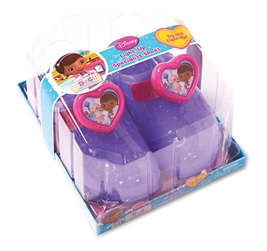 Doc McStuffins Light Up Doctor Shoes  from Flair plc – Review