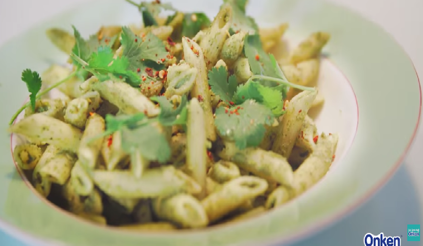 #OnkenTips – Cooking delicious Pesto Pasta with Onken Yogurt