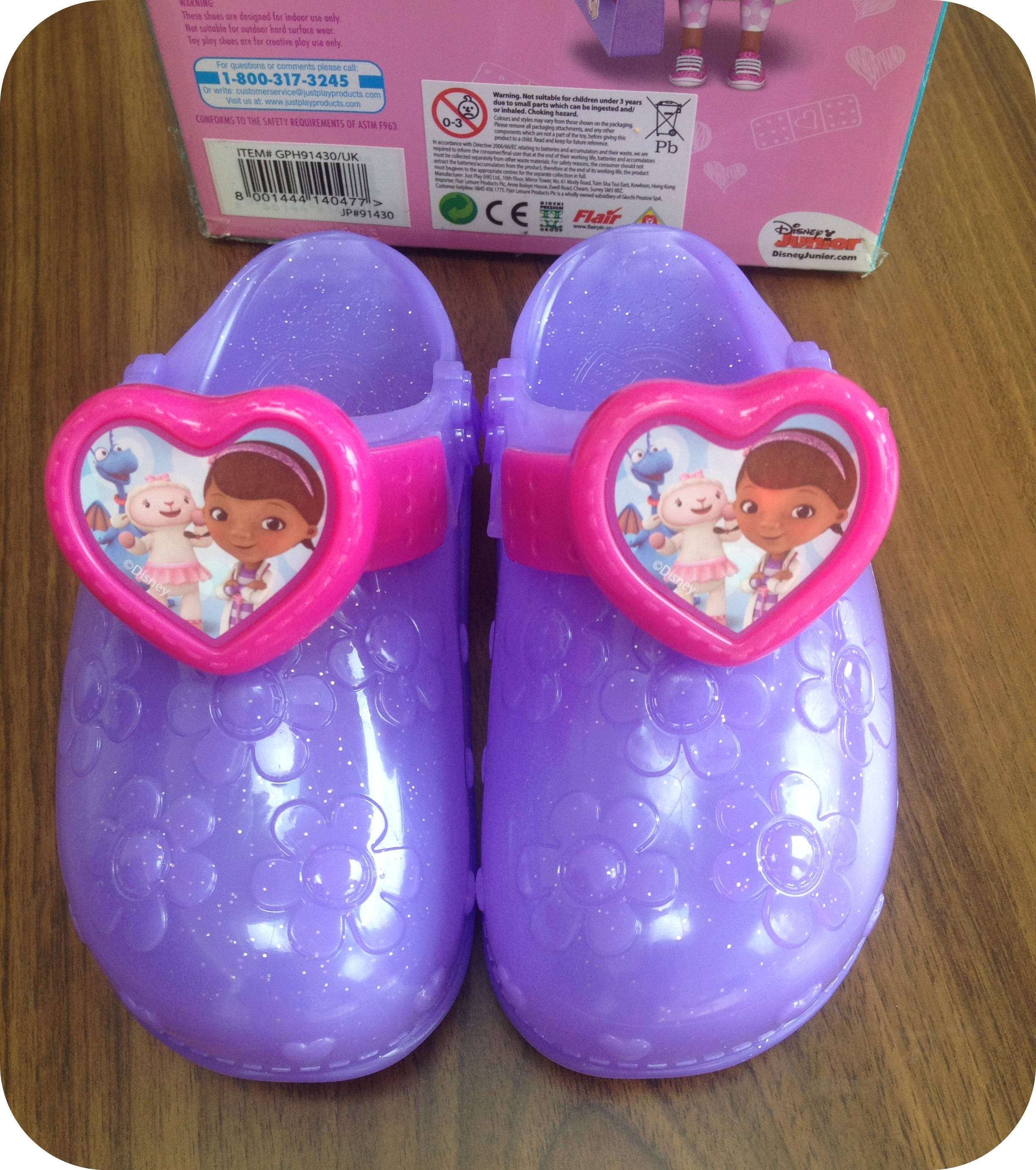 Doc McStuffins plc Light Shoes Flair Up from Doctor nkZNO80XwP