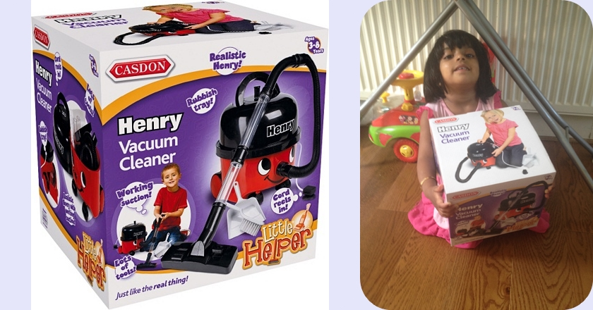 Just Like Home Toy Vacuum : Review henry toy vacuum cleaner from casdon mummy and