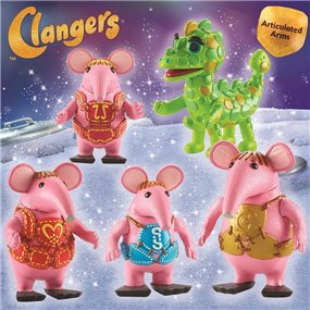 They are back …. Clangers from a faraway planet