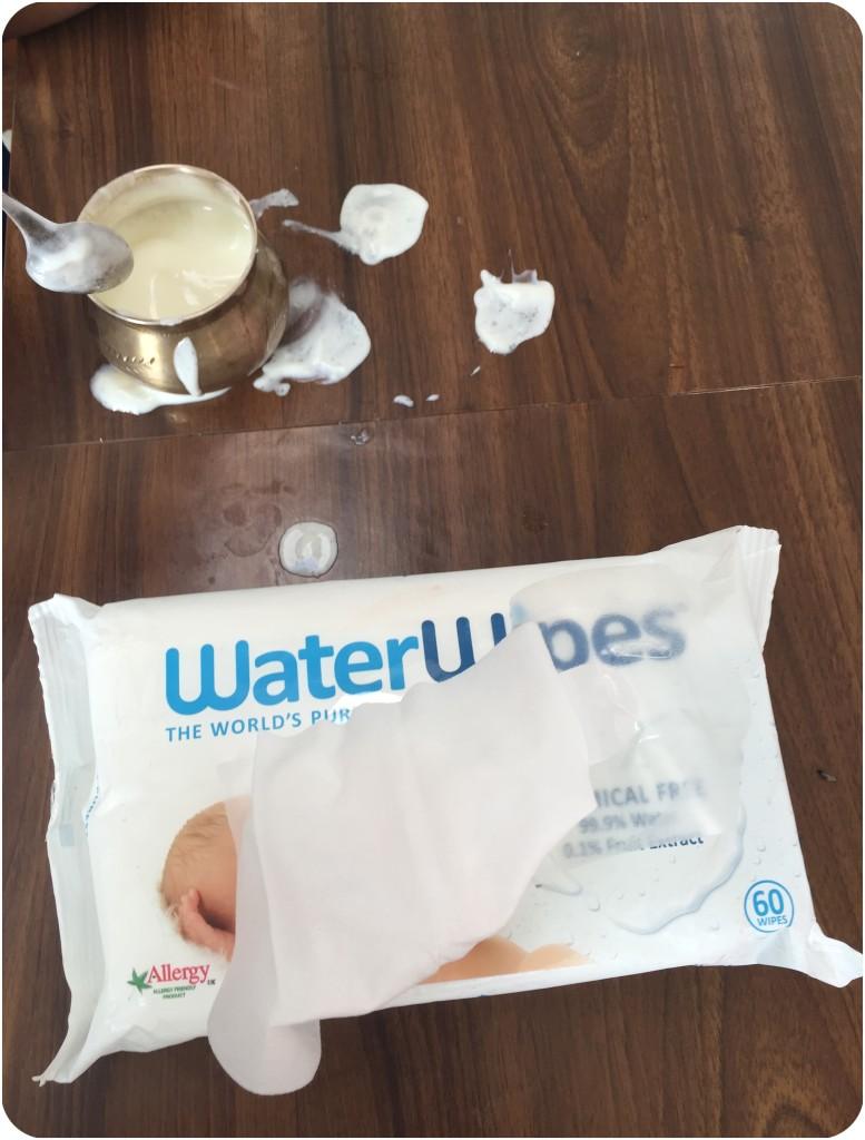 WaterWipes Usage