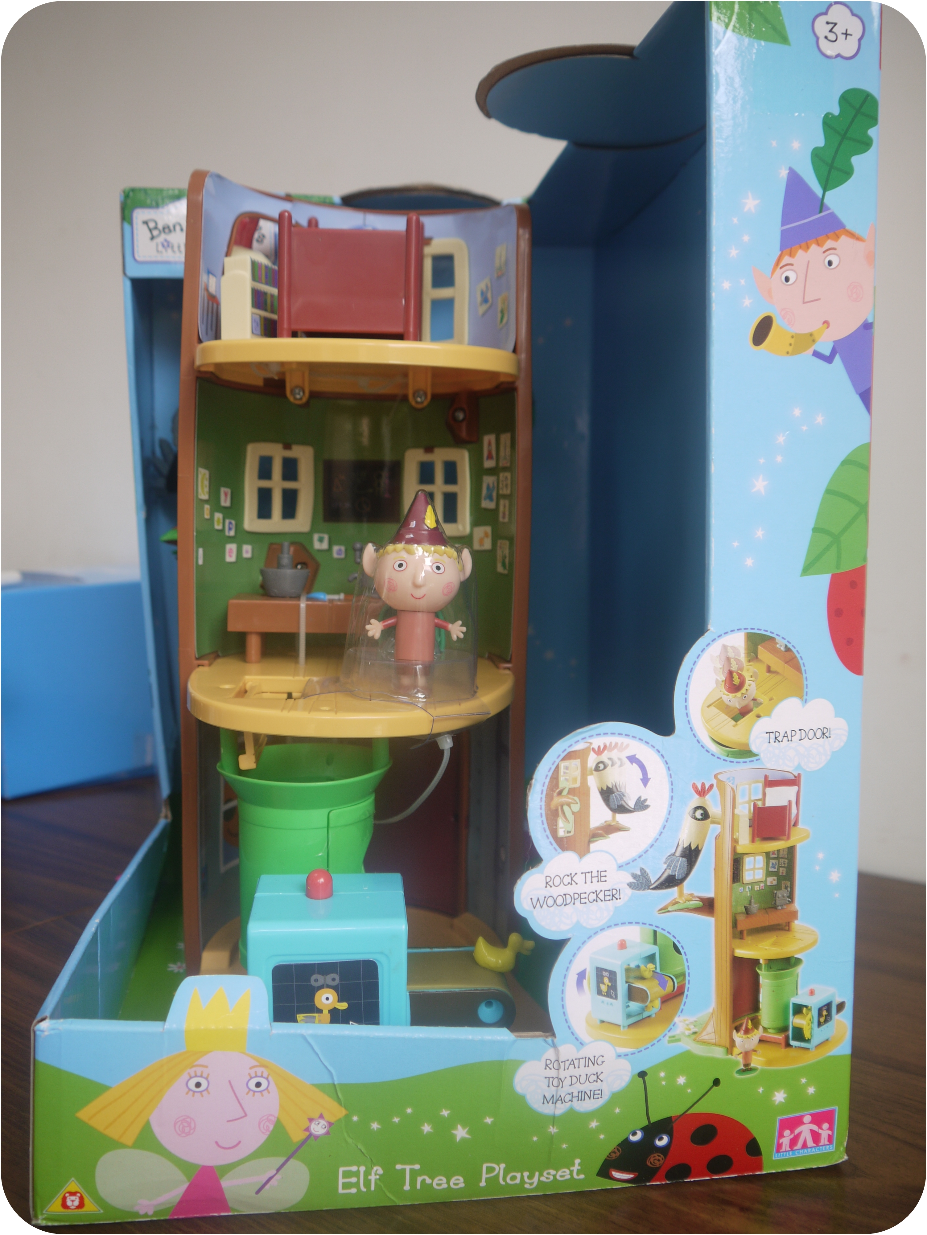 Toys Review:  Ben & Holly Elf Tree Playset