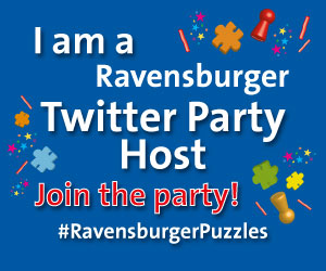 We are  #RavensburgerPuzzles Twitter party Host