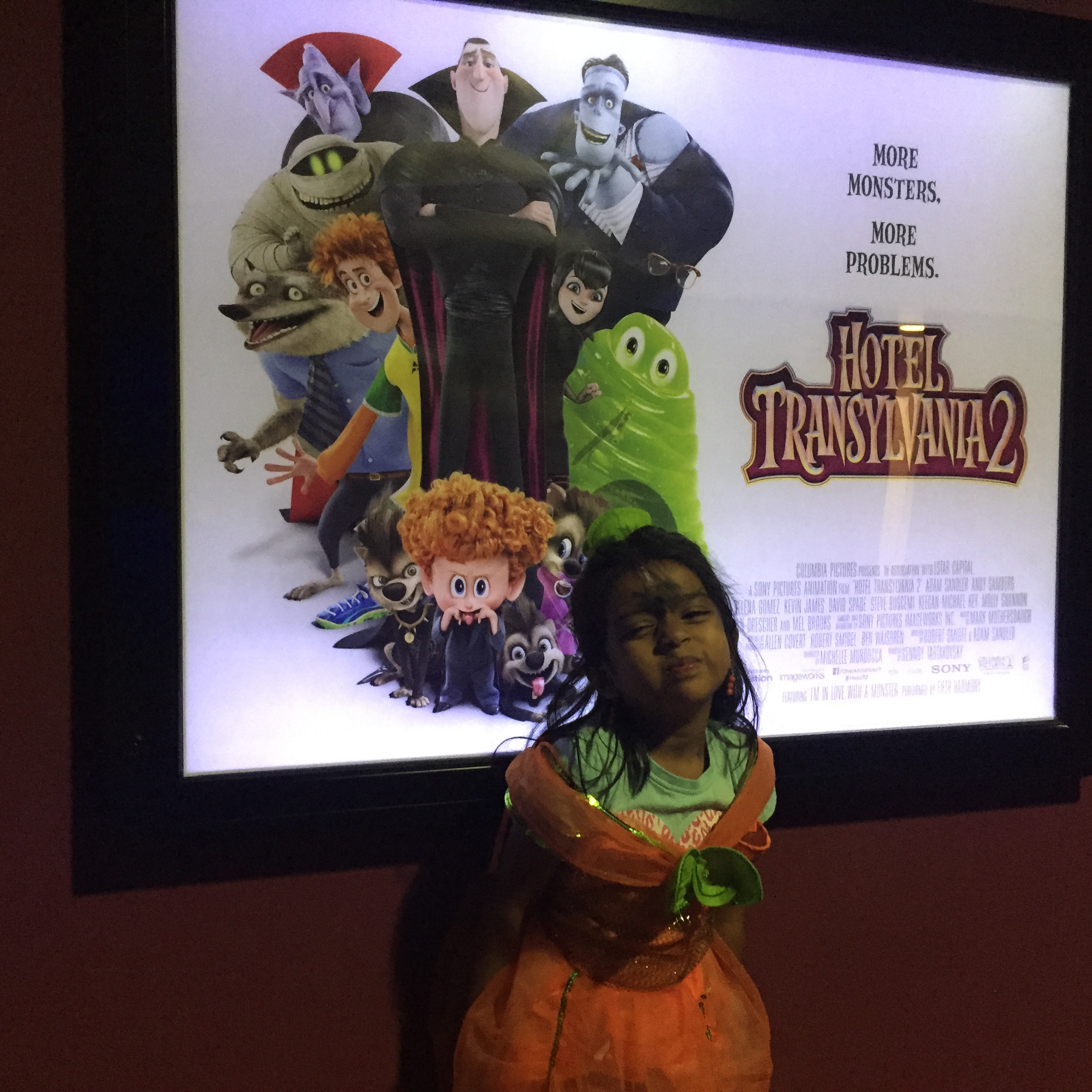 Mummy and the Cuties at Hotel Transylvania 2 – Mumsnet screening
