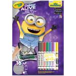 Review -Crayola  Minions colour alive set