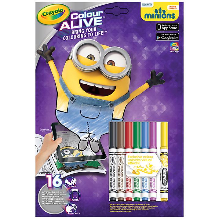 Minion Crayola Book
