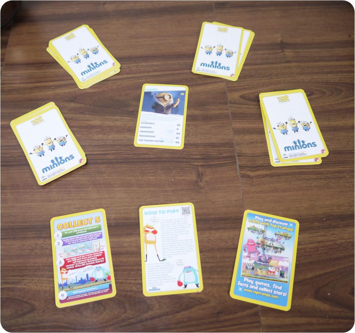 Minion  Top Trump Cards