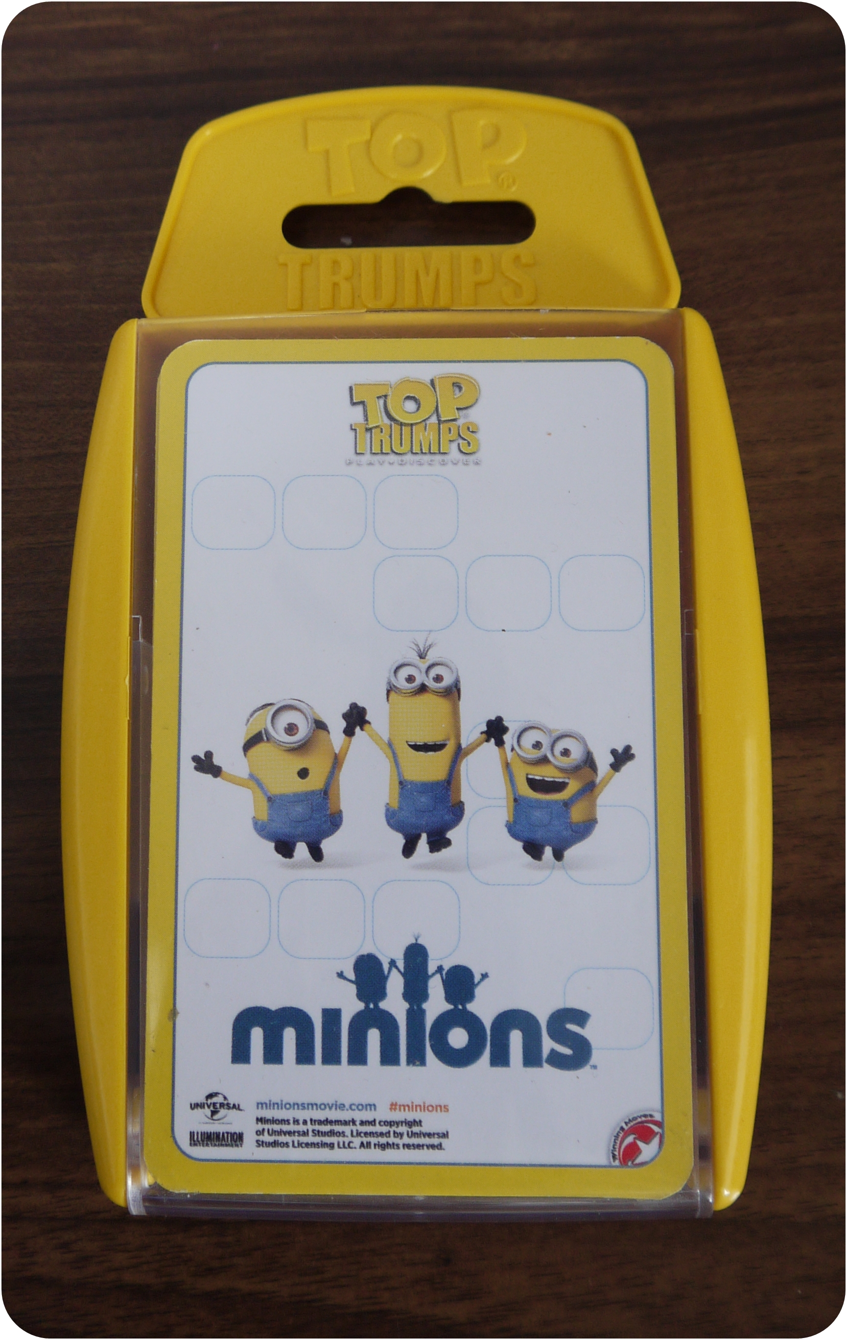 Review – Minion Top Trumps