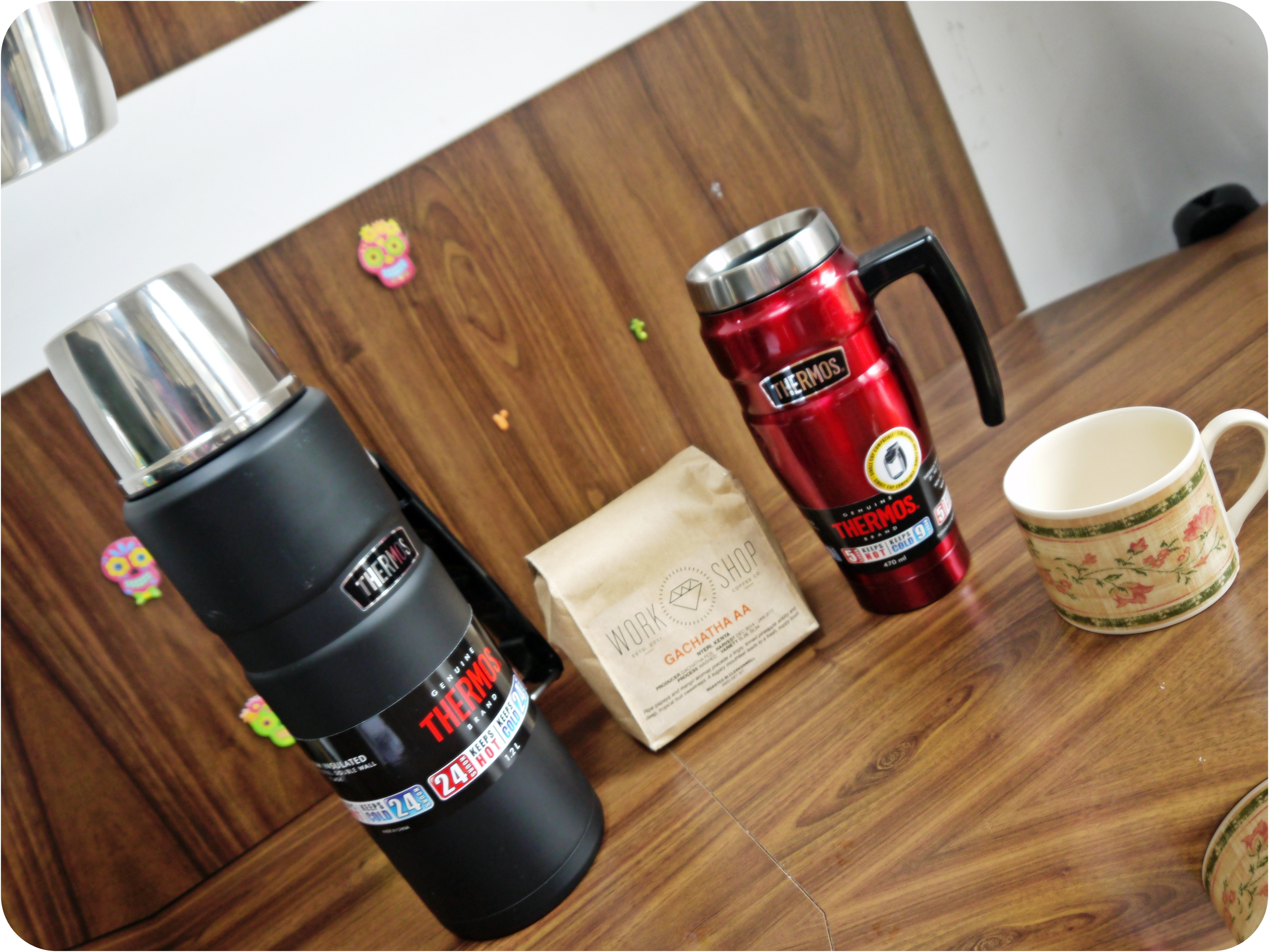 Thermos Coverage