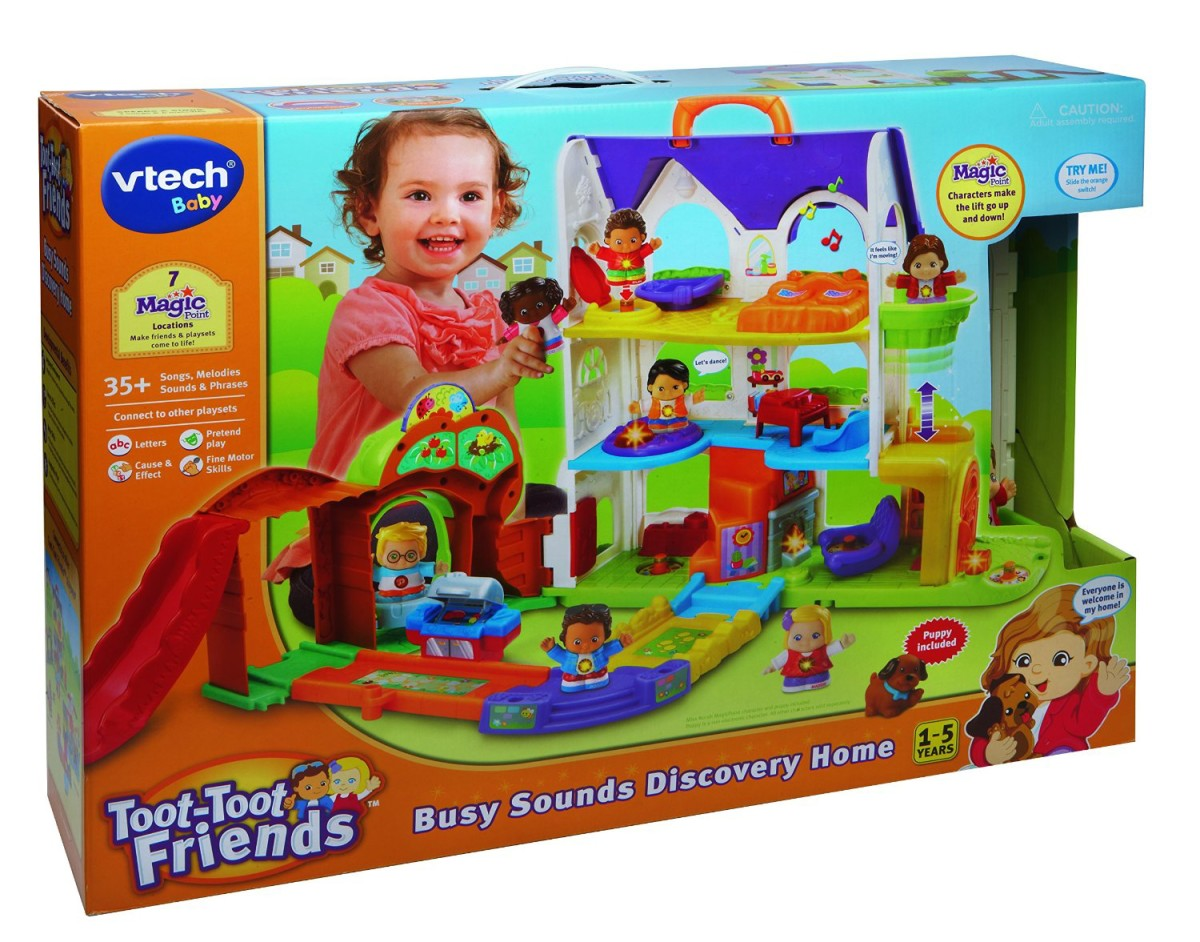 vtech toot toot friends discovery house - Best Toys 2015 Christmas