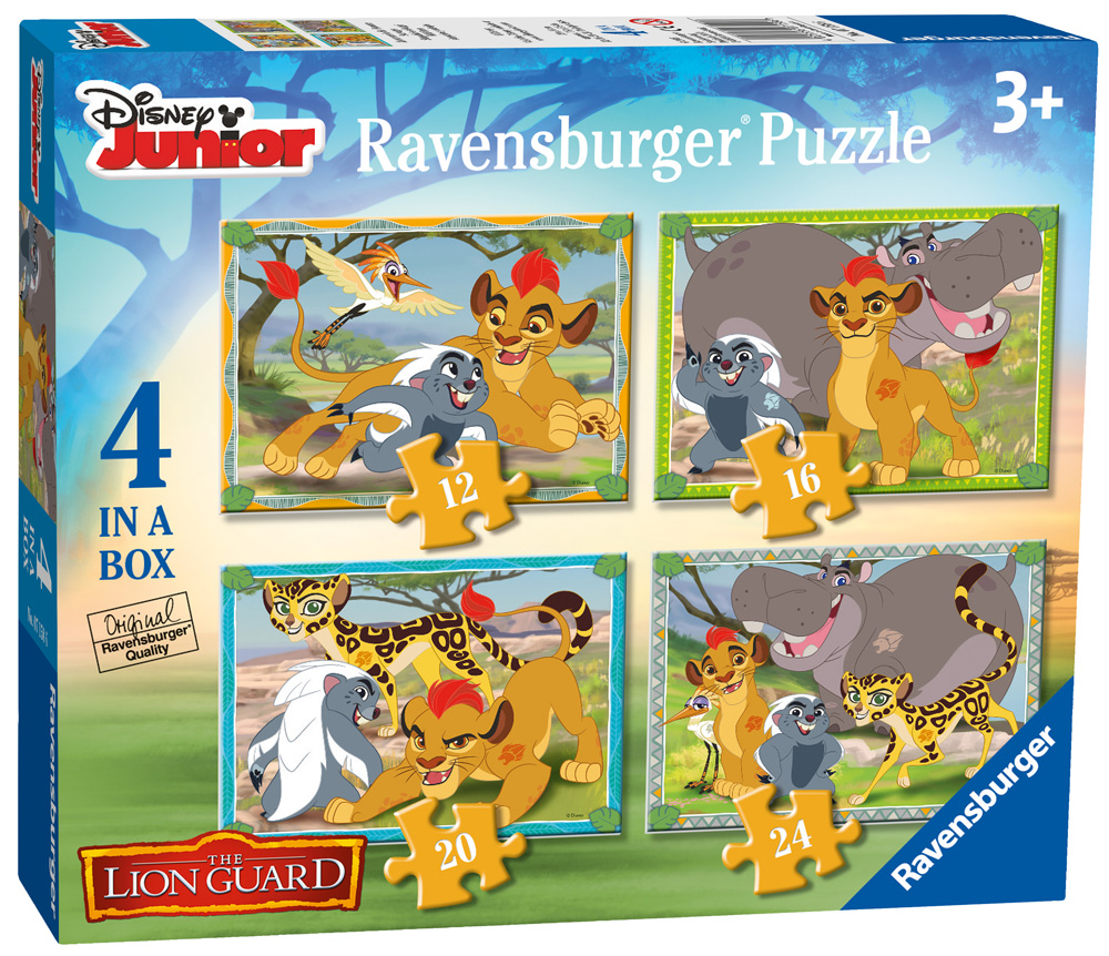 Review: Disney The Lion Guard 4 in 1 Puzzle