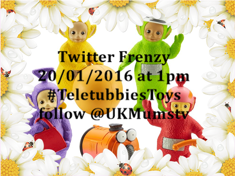 Are you joining the TeletubbiesToys Twitter Frenzy on 20/01 at 1pm