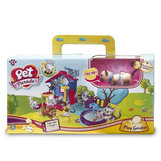 Pet parade Kittens play garden Playset review