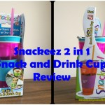 Snackeez 2 in 1 Snack and Drink Cup – Review