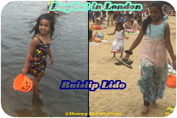 Dayout with Kids in London- Ruislip Lido