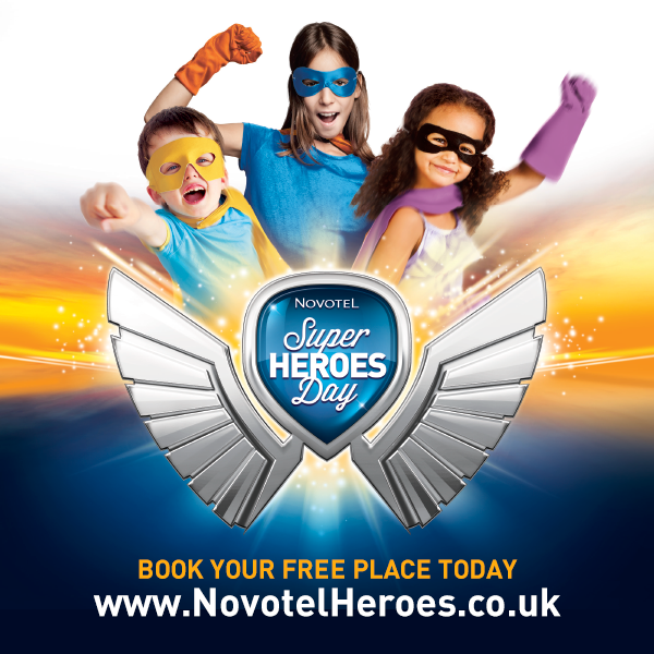 Super Hero Day is coming to Novotel near you