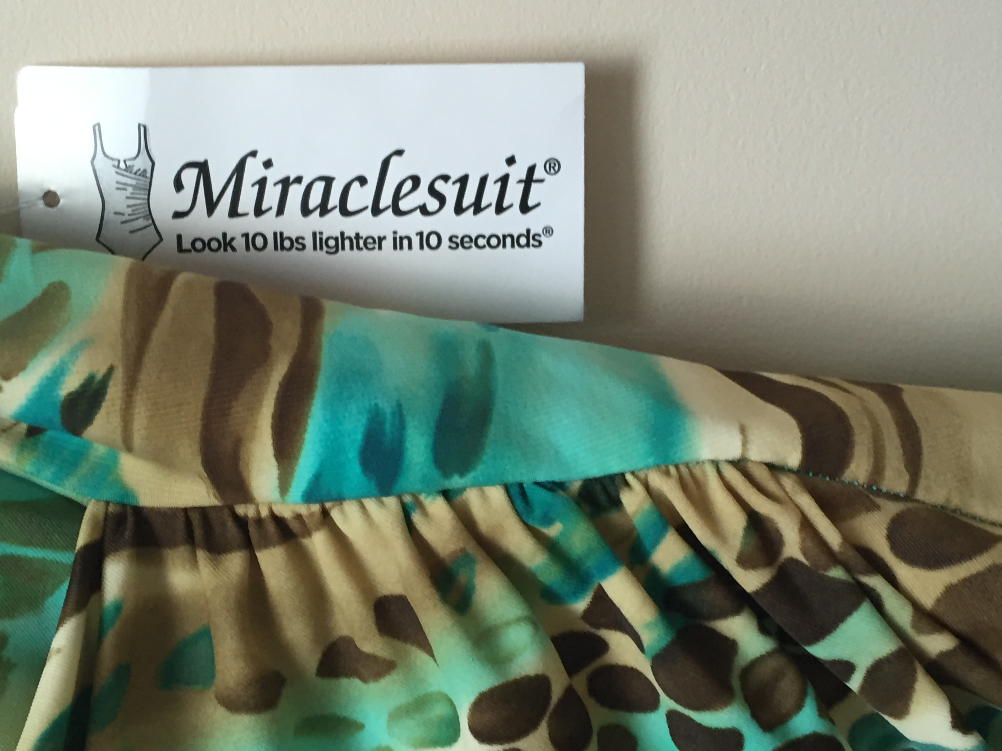 Miraclesuit swimming costume from Patricia-Eve