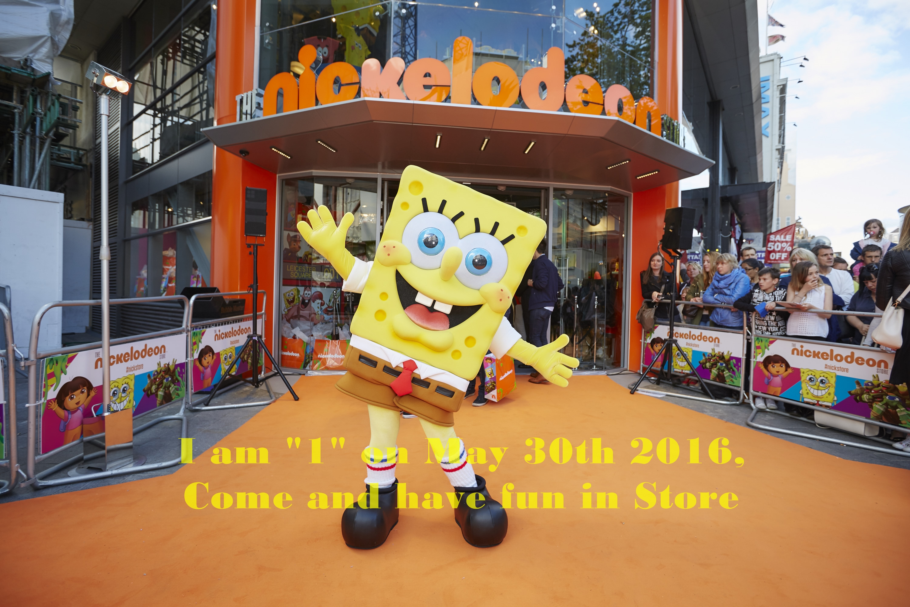 Giveaway: Nickelodeon voucher worth £25 to win on it's Birthday