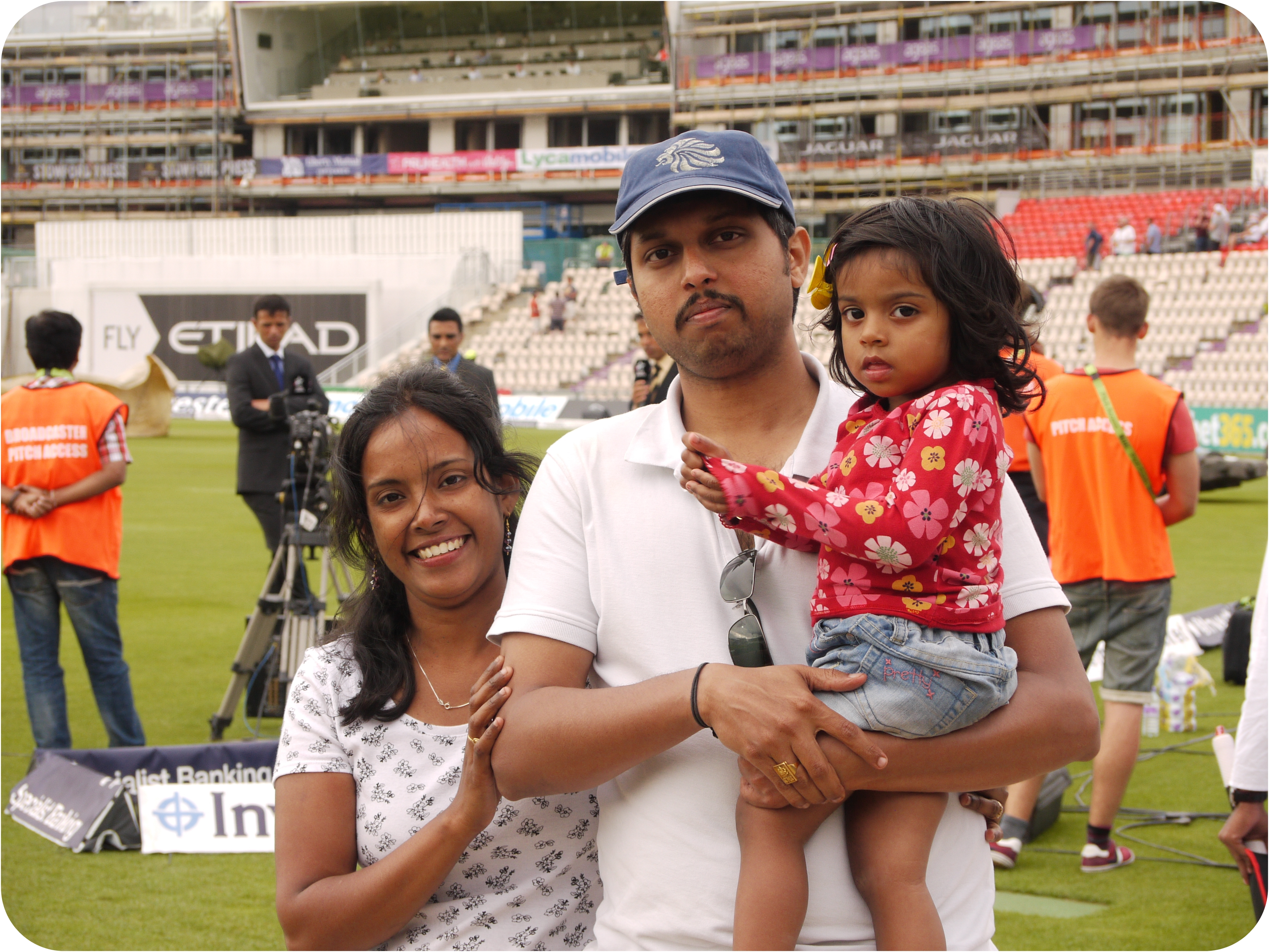 Mridinis First Cricket Match Live - 27 07 2014