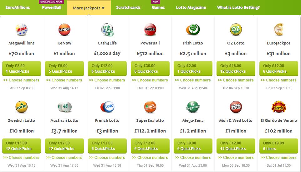 Lotto List