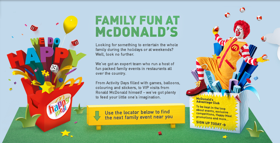 Family Fun at McDonalds – #hellogoodtimes campaign and free #McFlurry