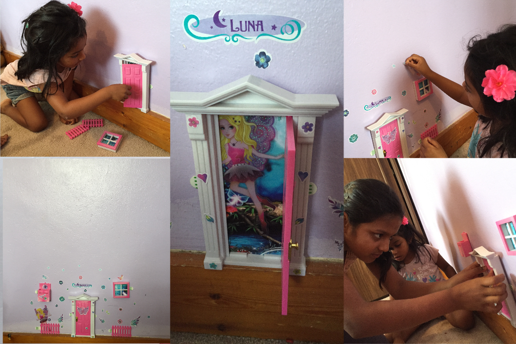 Opening Fairy Door Collage