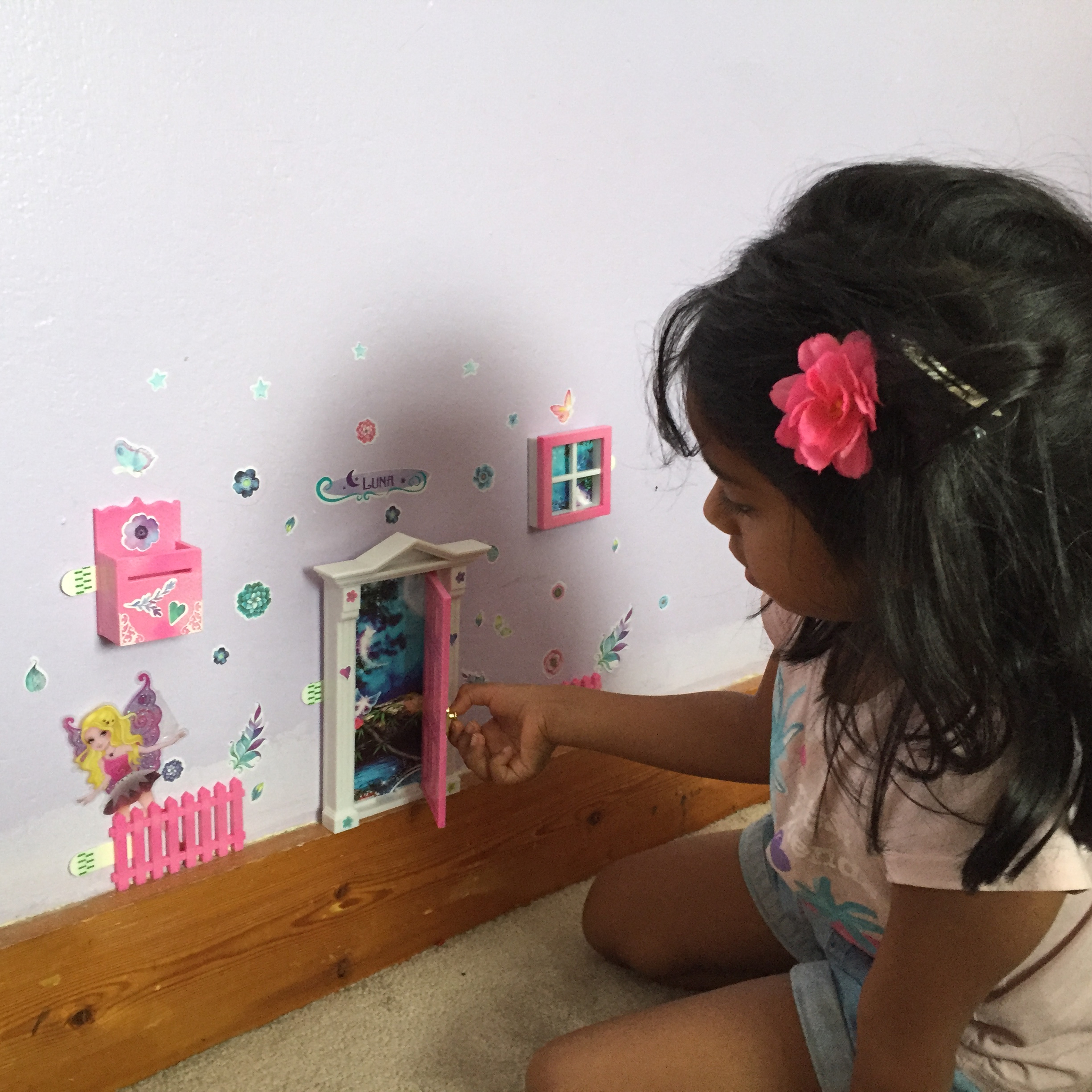 Opening Fairy Door - Finished Picture