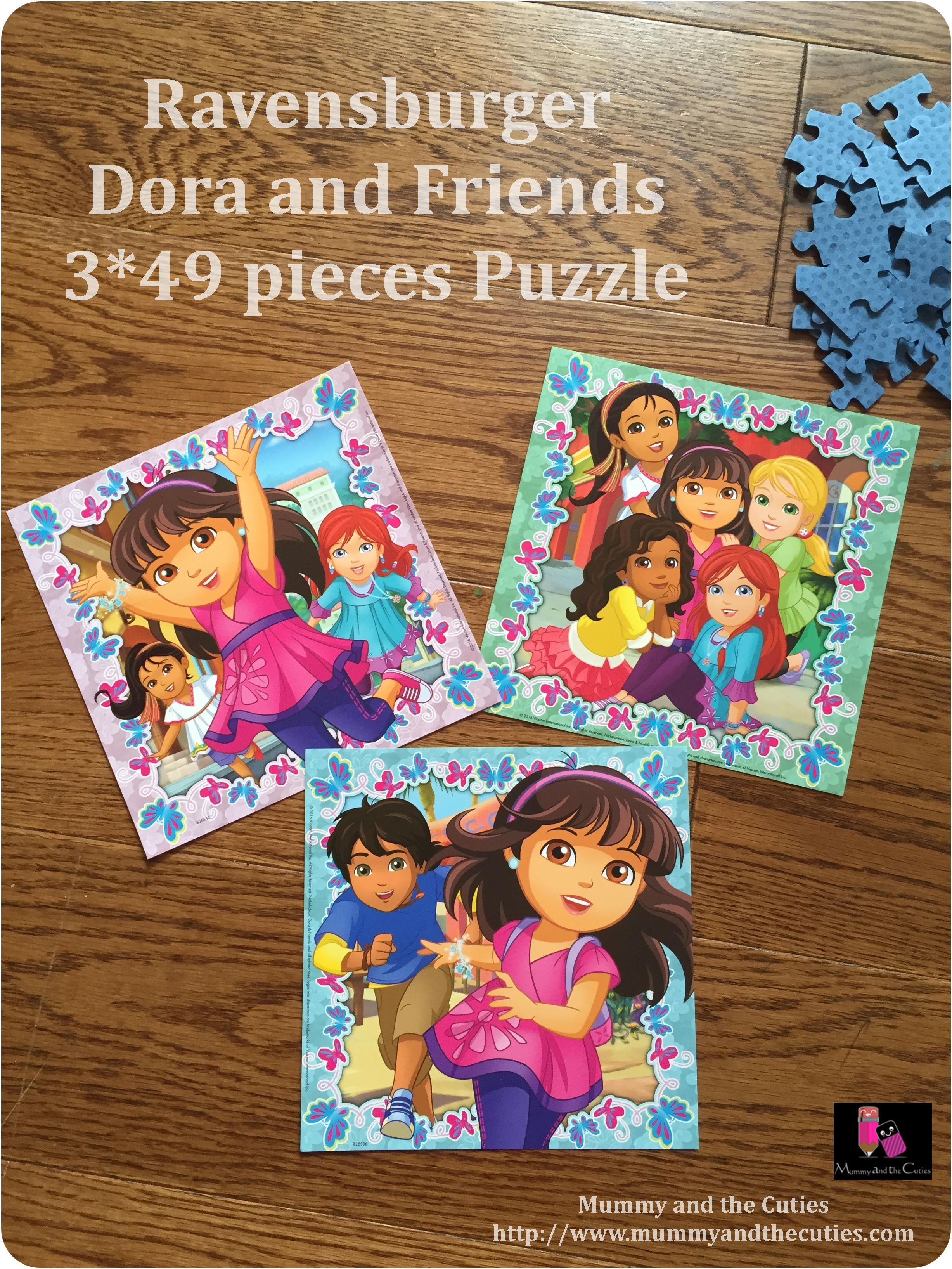 Ravensburger – Dora and Friends Puzzle Review