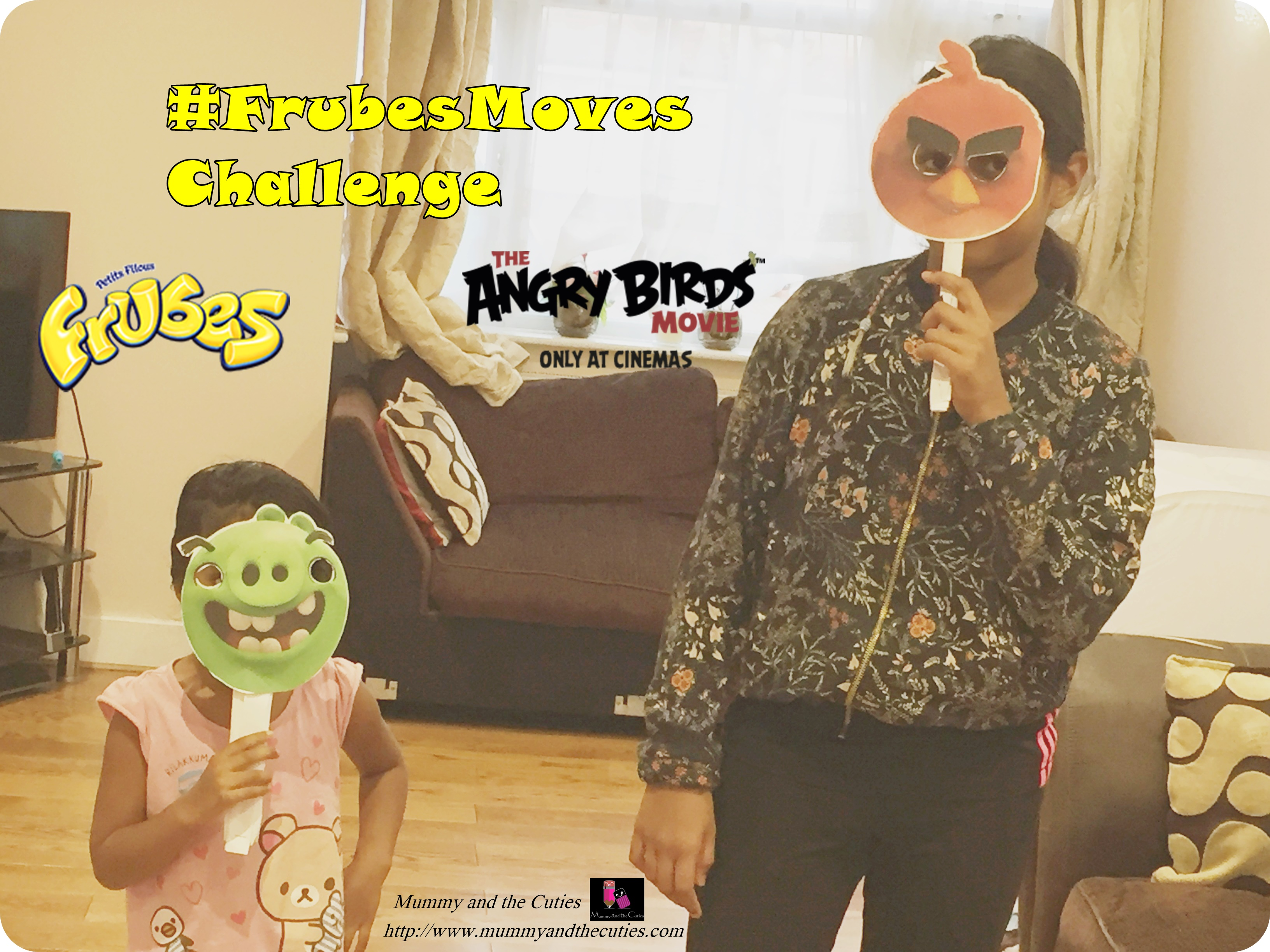 Dance off  – Our #FrubesMoves Challenge with BritMums, Frubes and AngryBirds