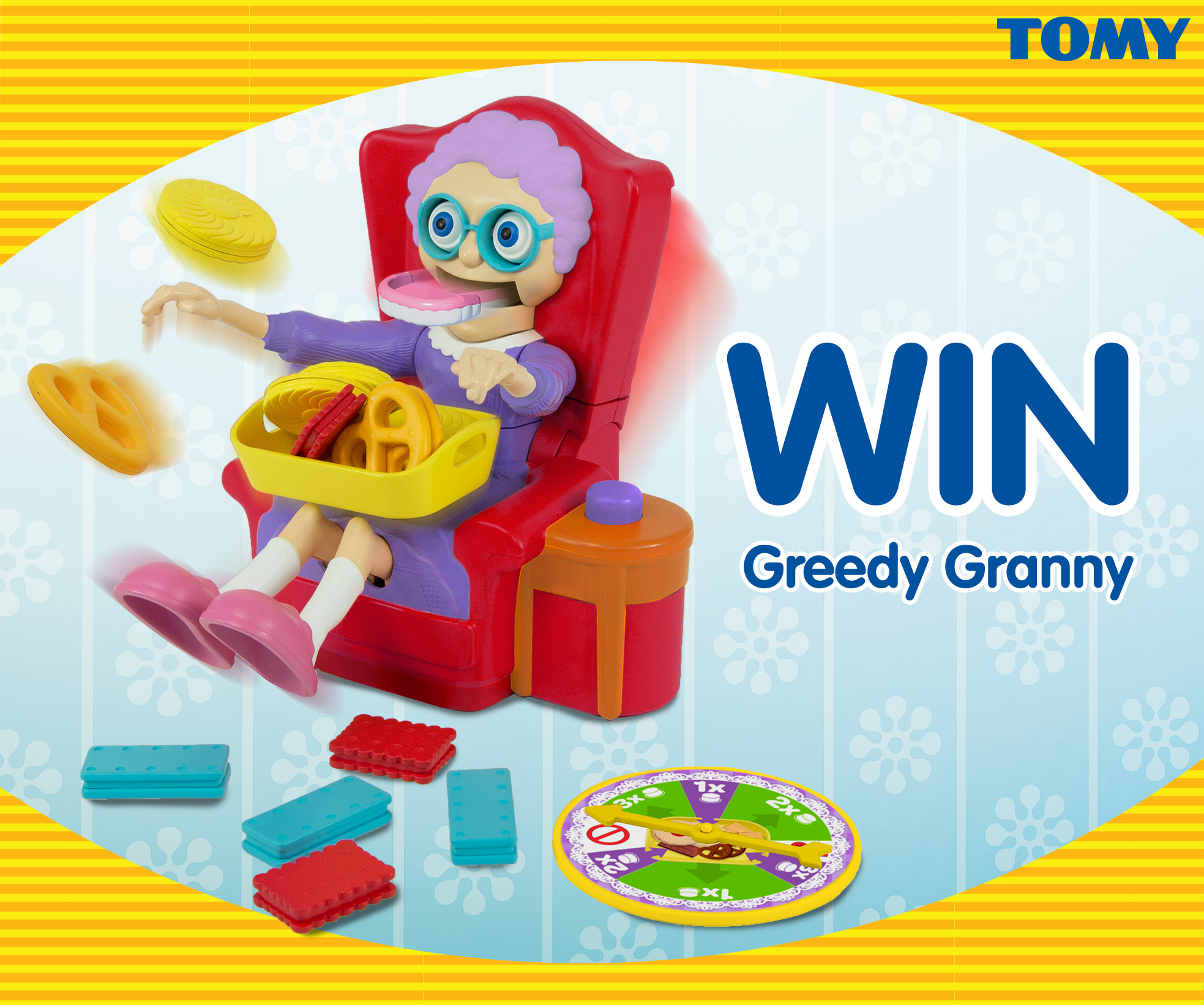 Competition: Win 1 of 3 Greedy Granny games